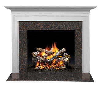 Richland Flush Wood Mantel