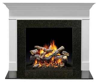 Wescott Flush Wood Mantel