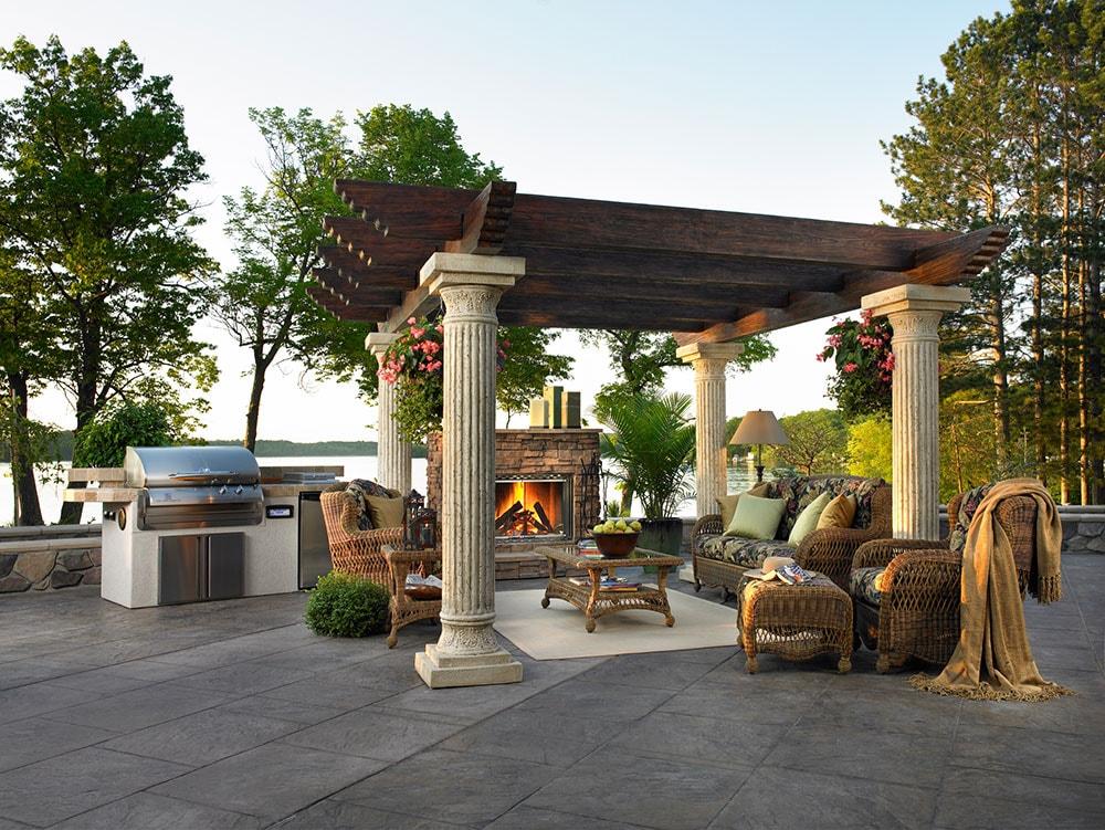 An Outdoor Fireplace Does A Lot More Heatilator