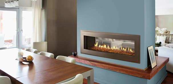 Crave linear gas fireplace