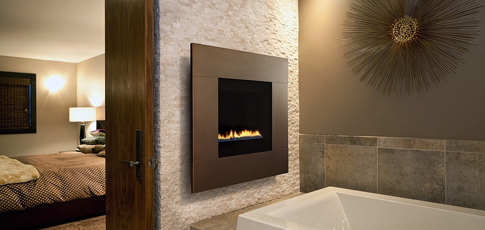 Ion Convenient Modern Gas Fireplaces Design Heatilator