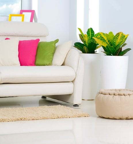 accessories are one of the best ways to change up the look of a room keep your furniture neutral and add new pillows and area rugs for a fresh look