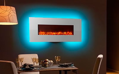 You can choose from models with multiple flame colors and up to 14  brilliant colors for LED firebox backlighting, as well as perimeter  lighting options. - Heatilator Debuting New Products At D&C Week! Heatilator