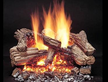 Duzy 3 Vented Gas Log Set