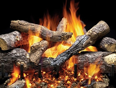 Gas Fireplace Logs + Log Sets | Heatilator