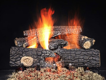 Outdoor Fireside Realwood Gas Log Set