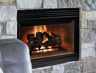 Accelerator Wood Fireplace