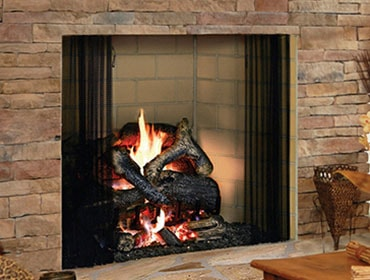 Birmingham Masonry Style Wood Fireplace Heatilator
