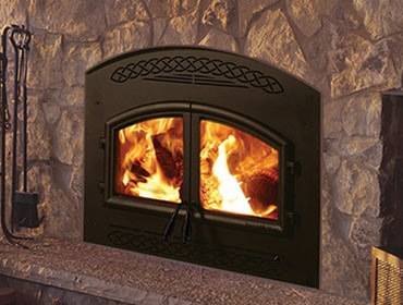 Consution Wood Fireplace