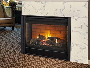 Corner Gas Fireplaces Heatilator