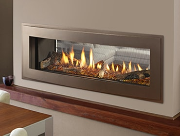 Crave See Through Series Gas Fireplace
