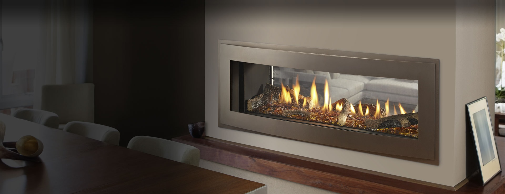 crave see through direct vent gas fireplace heatilator
