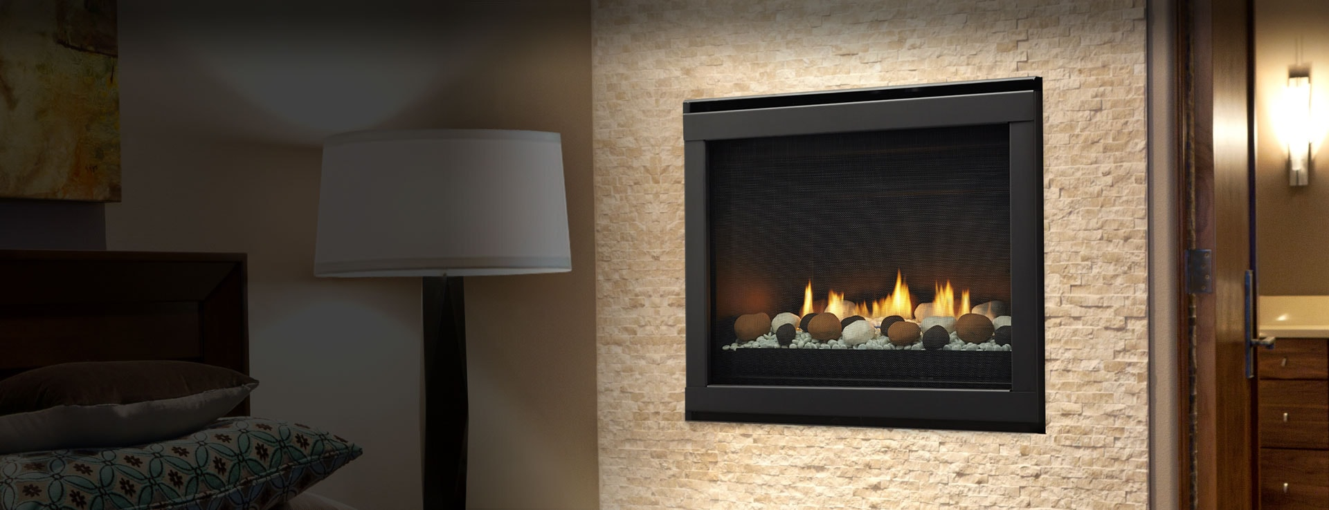 eclipse compact gas fireplace series heatilator