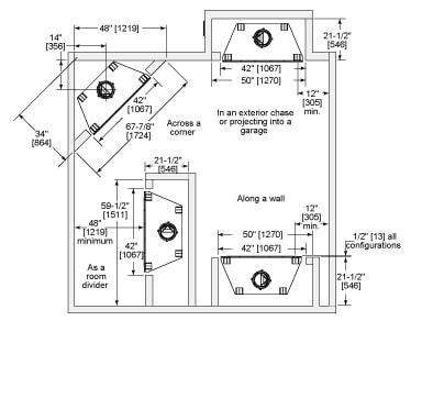 Element Wood Fireplace   Heatilator