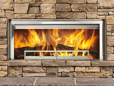 Longmire Wood-Burning Fireplace