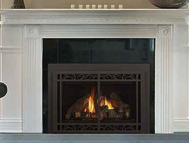 gas fireplace inserts one and two sided heatilator rh heatilator com gas fireplace inserts gas inserts for existing fireplaces