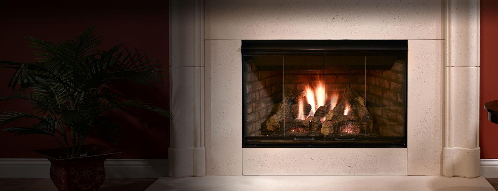 Reveal Gas Fireplace Open Hearth Gas Fireplaces Heatilator
