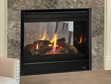 See Through Gas Fireplace Small Gas Fireplaces Heatilator