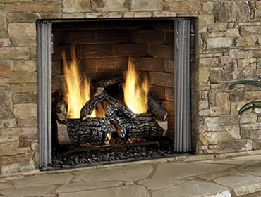 Carolina Traditional Gas Fireplace | Heatilator