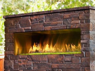Gas Outdoor Fireplaces Heatilator Outdoor Gas Fireplaces