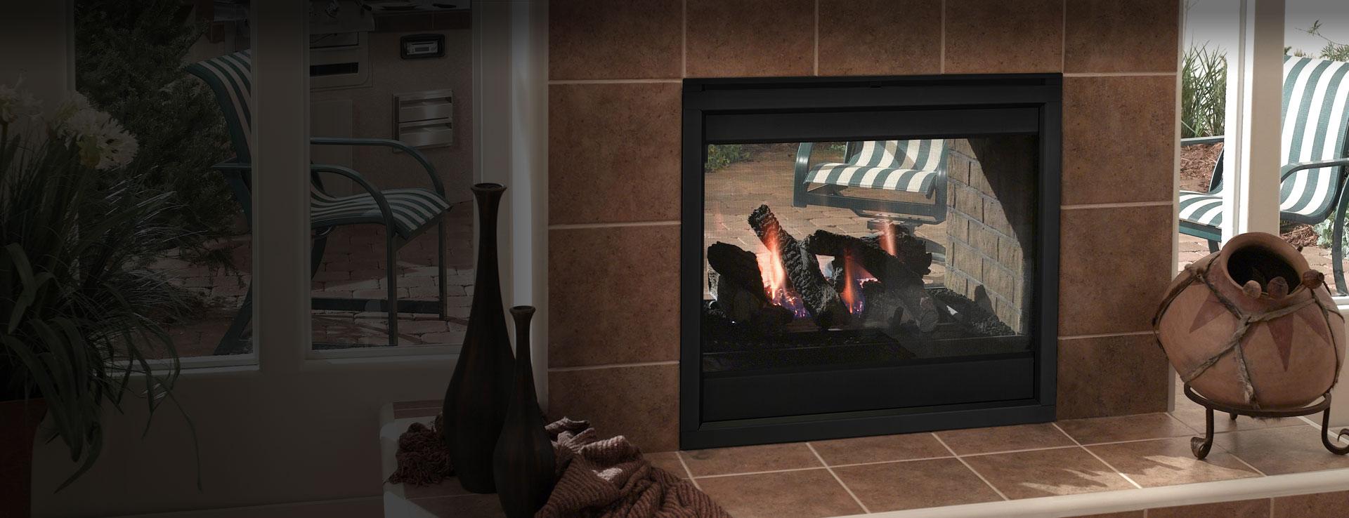 Twilight Ii Indoor Outdoor Gas Fireplace Heatilator