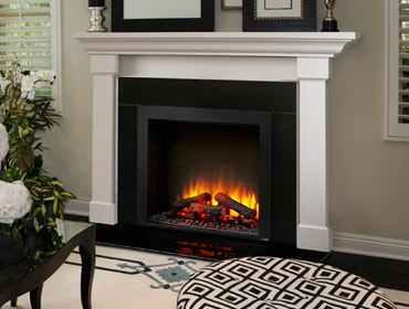 Electric Fireplaces | Plug-In Fireplaces | Heatilator