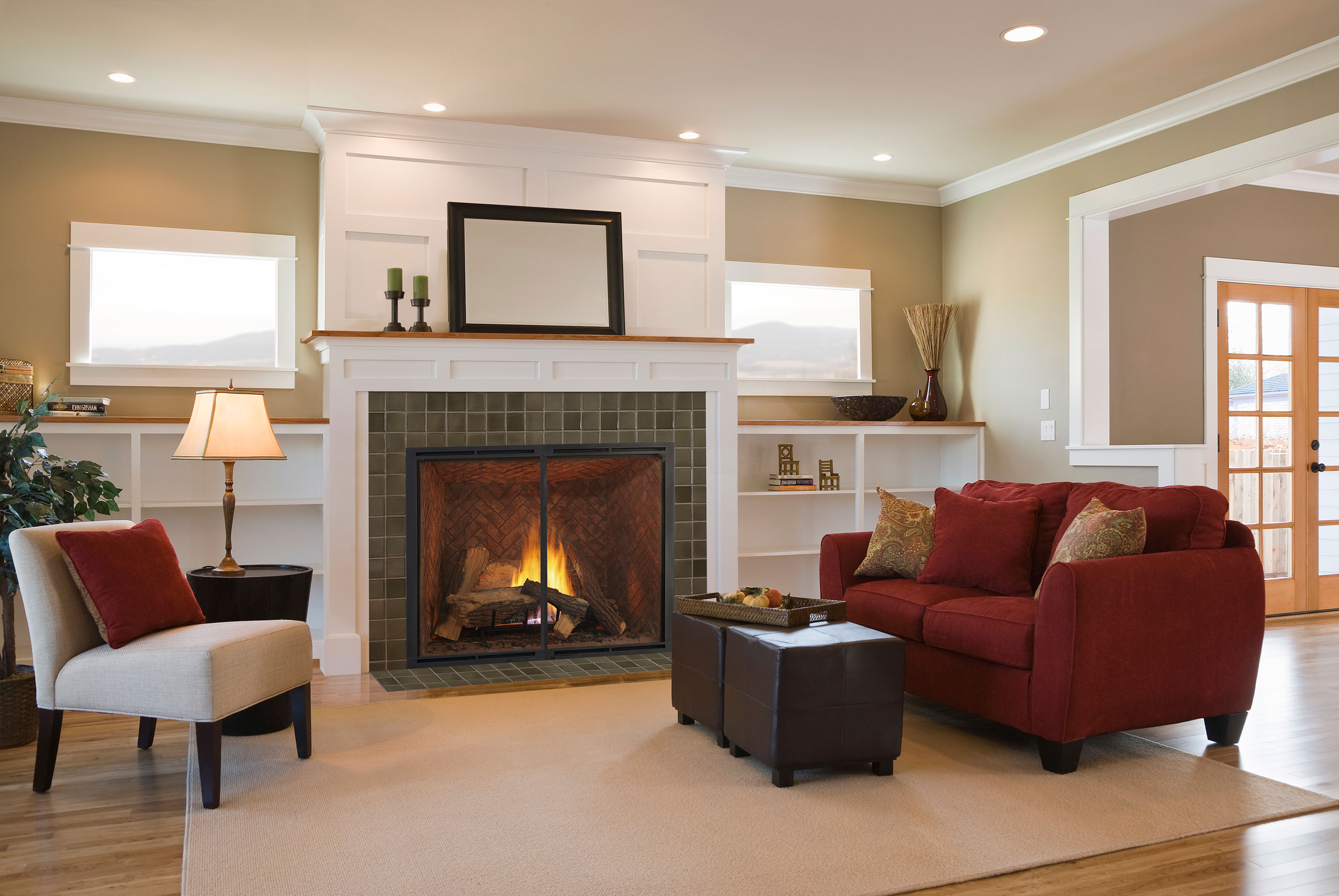introducing the heirloom gas fireplace series heatilator