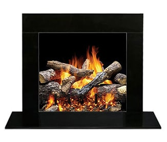 Granite For Fireplace Surround. Absolute Black Granite Set Natural Slate  Marble Fireplace Surrounds Heatilator
