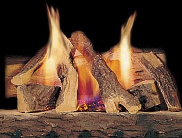 heatilator gas fireplace logs log sets