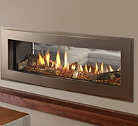 See-Through Gas Fireplace | Small Gas Fireplaces | Heatilator