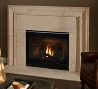 Novus Gas Fireplace Gas Fireplaces With Glowing Embers