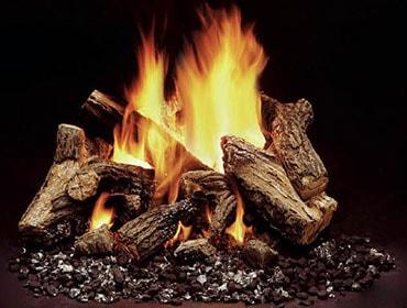 Duzy 5 Vented Gas Log Set