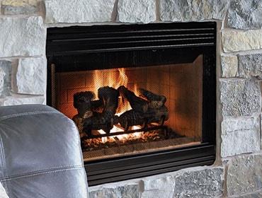Accelerator Wood Fireplace