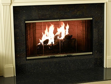 Element Wood Fireplace