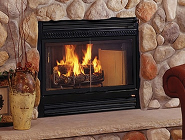 SC60 Wood Fireplace