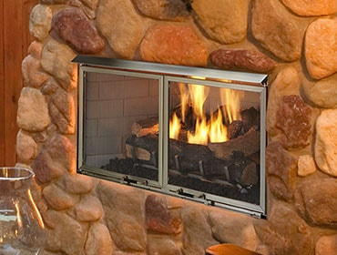 Villa Gas Fireplace